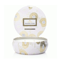 Voluspa Limited Edition Panjore Lychee 3 Wick Tin Candle 12oz