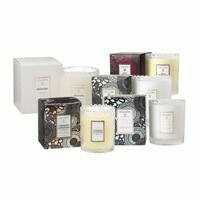 Voluspa Assorted Scalloped Edge Candle Gift Basket 6.2oz