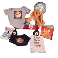 Jillybean bebe Baseball Diaper Set Baby Boy Gift