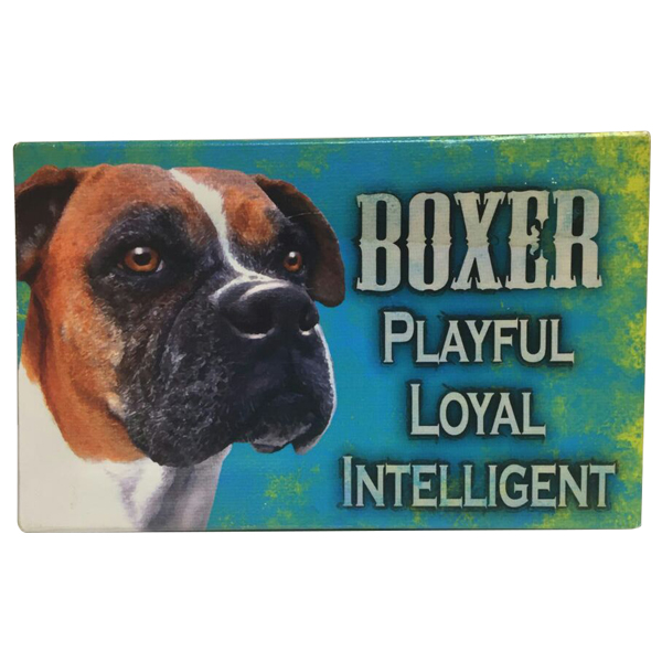 Boxer - Dog Sign Board
