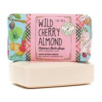 Olivina Wild Cherry Almond Bar Soap 5oz