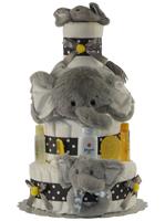 Grey Elephant 4 Tiers