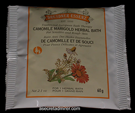 Pre de Provence Dresdner Essenz Herbal Bath Packet 60g-Chamomile Marigold 2.1 oz