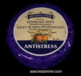 Pre de Provence Desdner Essenz Sparkling Bath Vanilla-Bergamot - Antistress 75g/2.6oz