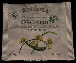 Pre de Provence Dresdner Essenz Organic Herbal Bath Packet 50g-Eucalyptus 1.76 oz