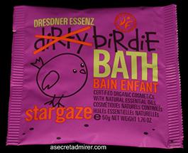 Pre de Provence Dresdner Essenz Dirty Birdie Bath Packet 50g-Star Gaze (Lavender Oil) Created Just For Kids - Certified Organic 1.76 oz