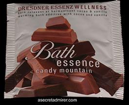 Pre de Provence Dresdner Essenz Wellness Packets 60g-Candy Mountain (dCocoa/Vanilla)