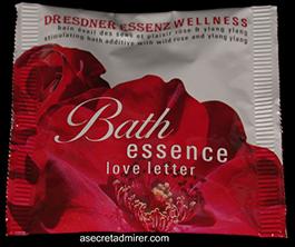 Pre de Provence Dresdner Essenz Wellness Packets 60g-Love Letter (Ylang/Sandalwood)
