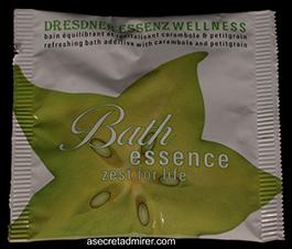Pre de Provence Dresdner Essenz Wellness Packets 60g-Zest for Life (Carambola & Petigrain)