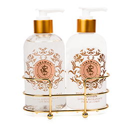 Shelley Kyle Tiramani Two piece Lotion and Liquid Hand Soap Set 8oz