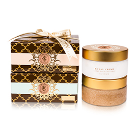 Shelley Kyle Tiramani Sugar Scrub and Royal Creme Set