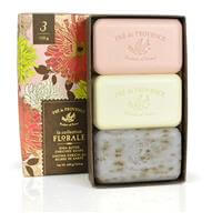Pre de Provence Gift Box Assorted Floral Soap 5oz