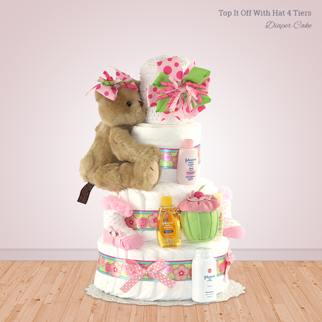 Top It Off With Hat 4 Tiers