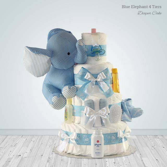 Blue Elephant 4 Tiers