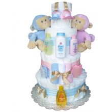 Twin Diaper Cakes
