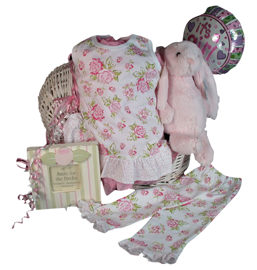 Pretty In Pink Margery Ellen Amp Jellycat Baby Girl Gift