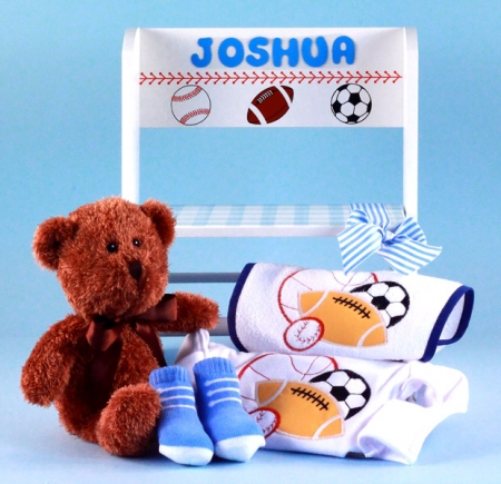 Deluxe step stool personalized baby gift boy negle Choice Image
