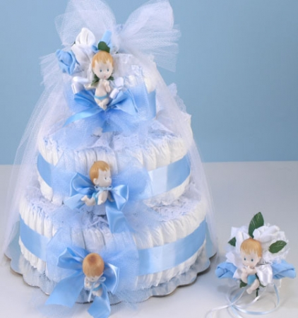 Diaper Cake Delight Baby Boy Gift At Best Prices