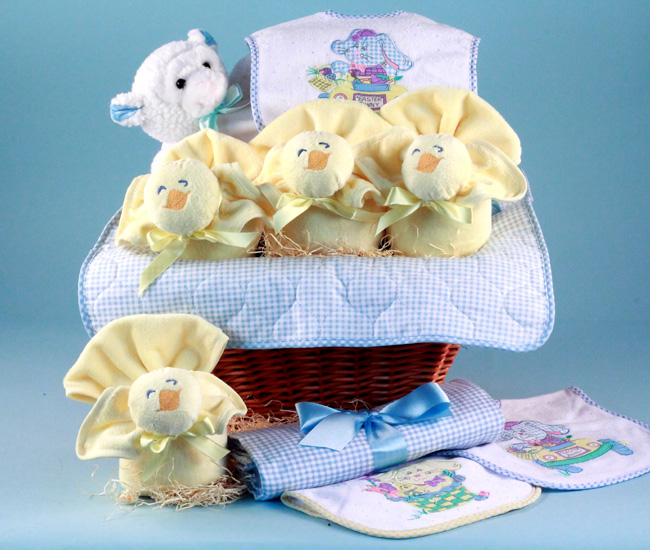 Easter baby gift basket boy at best prices easter baby gift basket boy negle Images