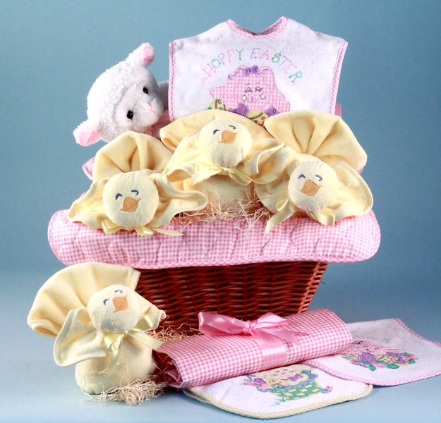 Easter baby gift basket girl at best prices easter baby gift basket girl negle Choice Image
