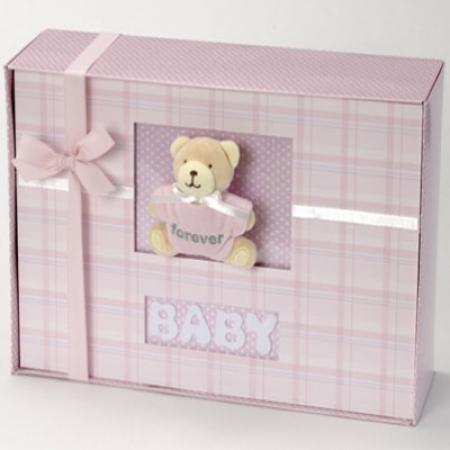 Forever Baby Book Keepsake Photo Album Baby Girl Gift