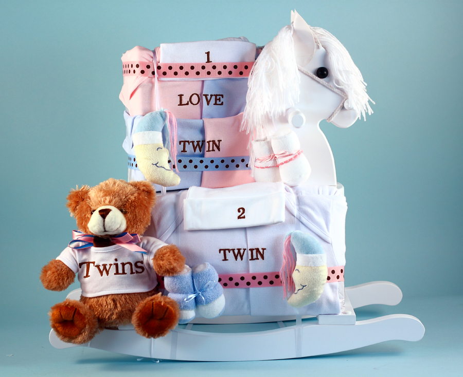 Personalized Baby Gift Baskets Rocking Horse : Rocking horse gift for twins at best prices