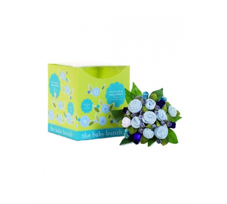 Baby Bunch Medium Gift Bouquet, Blue 0-6m