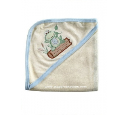 Hooded Towel - Organic Boys