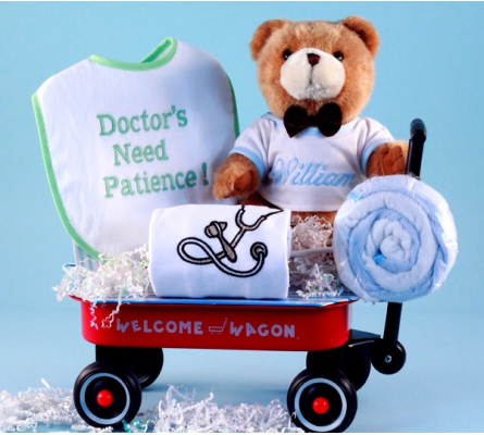 Doctor's Need Patience Personalized Baby Boy Gift