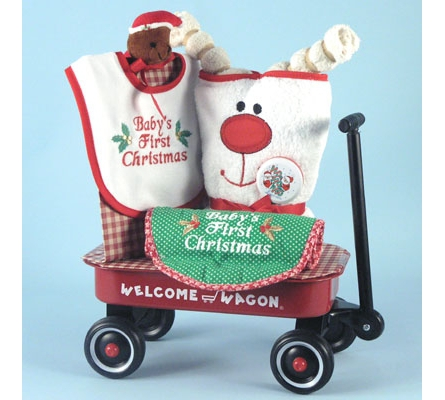 Christmas Welcome Wagon Baby Gift
