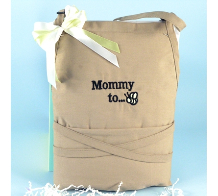 Mommy to Bee Apron Baby Shower Gift