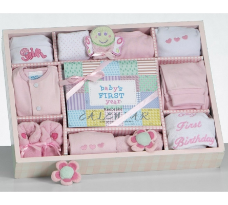 Baby's First Year Gift Set-Girl