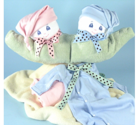 Two Peas in a Pod Gift For Twins