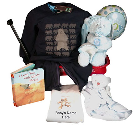 Nano & Musical Gund Bear Beary Sweet Baby Boy Gift