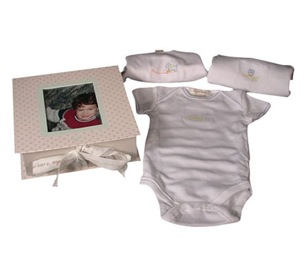 Angel Dear Trio Of Onsies Fabulous Smaller Gift!