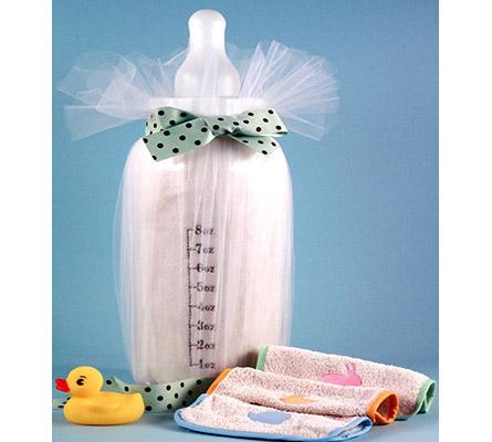 Baby Blanket & Bottle Bank Baby Gift