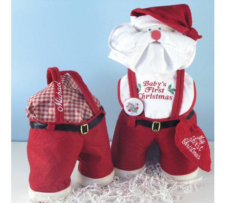 Santa Panta Personalized Baby Gift