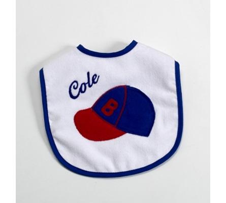 Baby Bib-Baseball & Baby'S Name