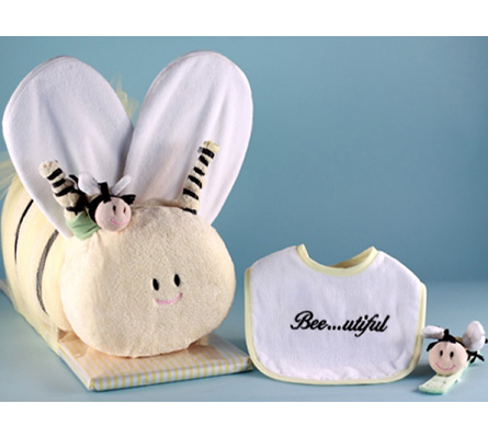 Bee...Utiful Baby Shower Gift Set