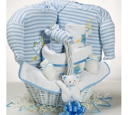 Catch-A-Star Boy Baby Gift Basket