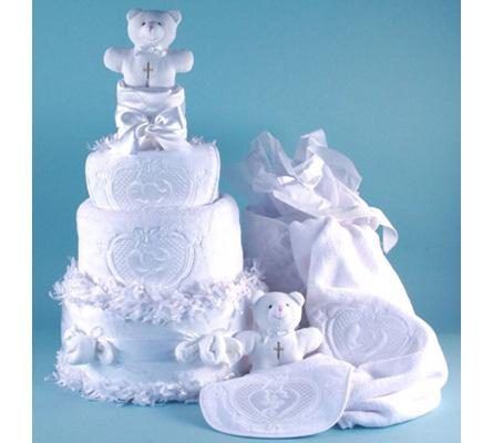 Christening Diaper Cake Baby Gift