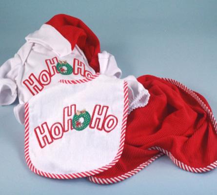 Christmas Ho, Ho, Ho Baby Gift Set