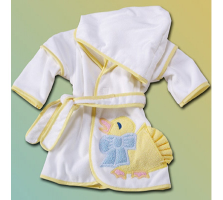 Duck Hooded Cover-Up Baby Gift