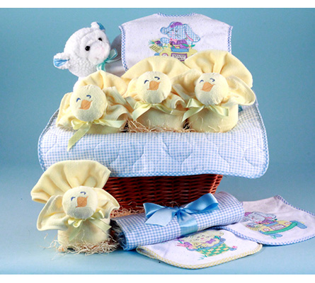 Easter Baby Gift Basket-Boy