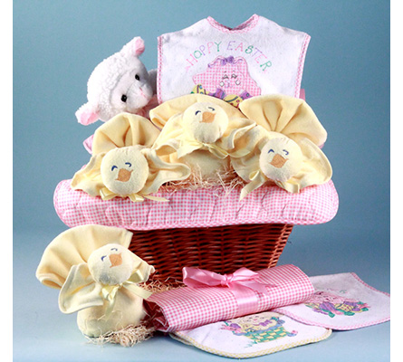 Easter Baby Gift Basket-Girl