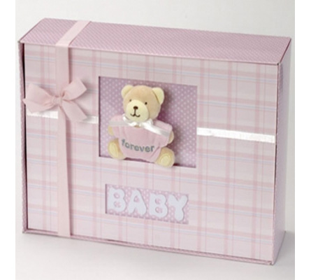 Forever Baby Book Keepsake Photo Album-Baby Girl Gift