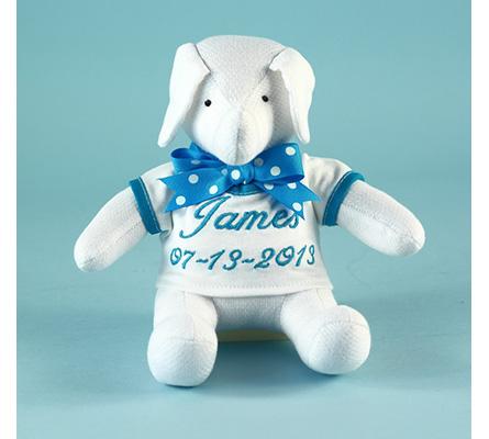 Keepsake Elephant Toy Personalized Baby Gift