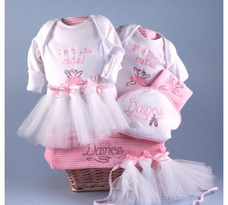 Little Ballerina Baby Gift Basket