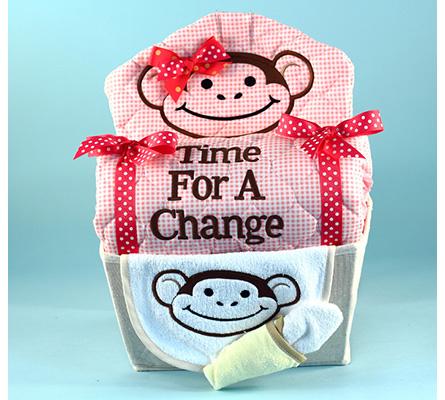 My Little Monkey Baby Gift Basket