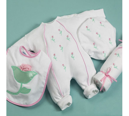 Petite Fleur Layette Baby Gift
